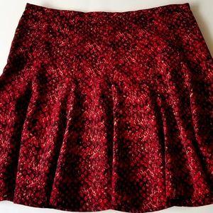 Michael Kors Women's Stretch Flare Skater Skirt